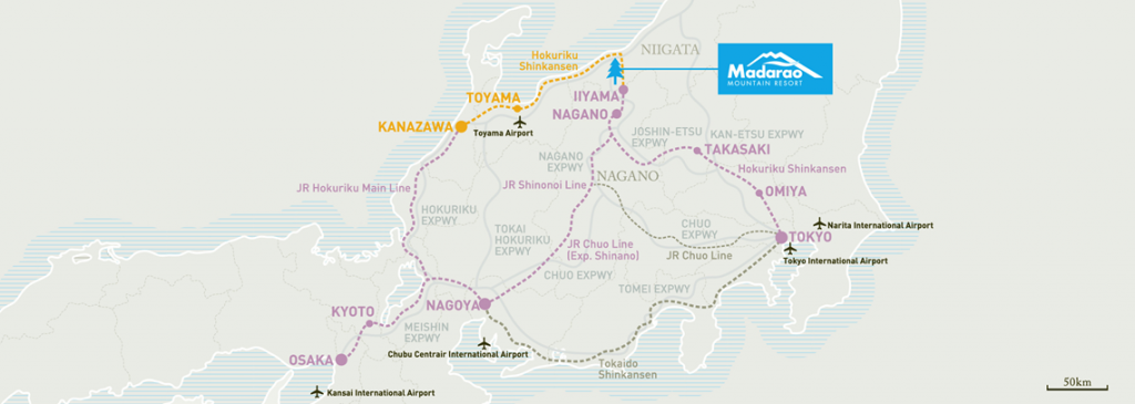getting to madarao map